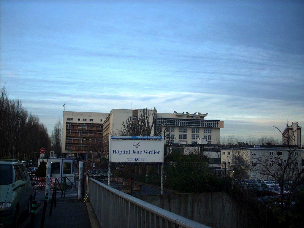Bondy : Centre Hospitalier Universitaire Jean-verdier, Ла-Курнье