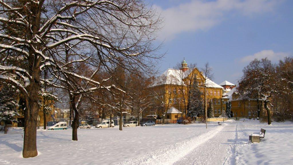 Prosinec v Opavě, 4 (December in Opava) - základní škola (primary school), Опава