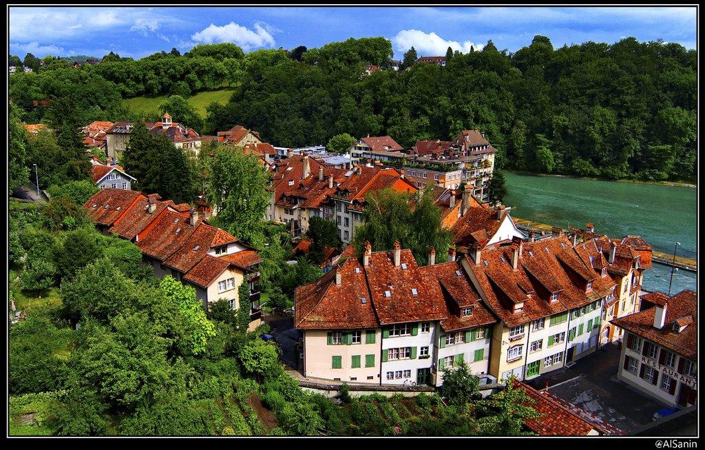Roofs of Bern, Берн