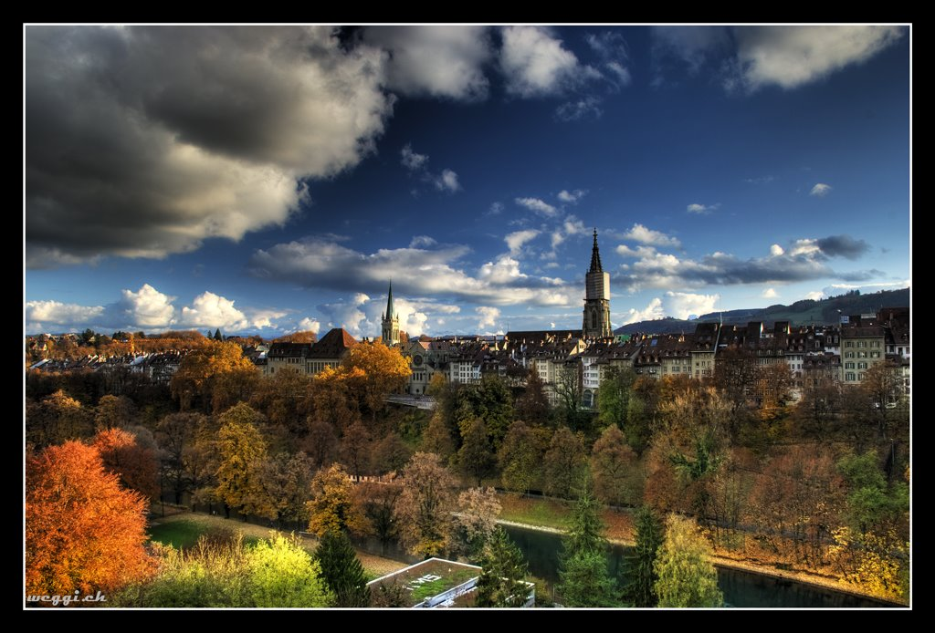 bern, autumn silhouette © weggi.ch, Берн