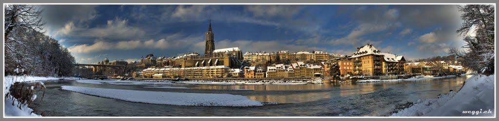 bern, winter, pano © weggi.ch, Берн