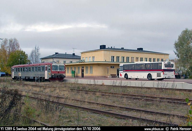 Malung järnvägsstation, Малунг