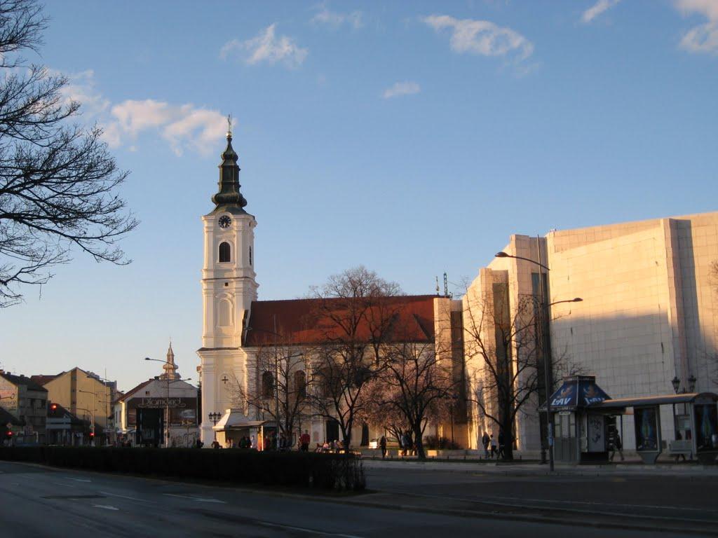 Uspenska crkva Novi sad, Нови-Сад