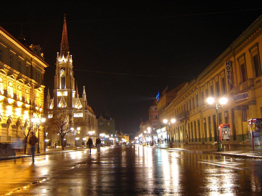 Novi Sad by Night, Нови-Сад