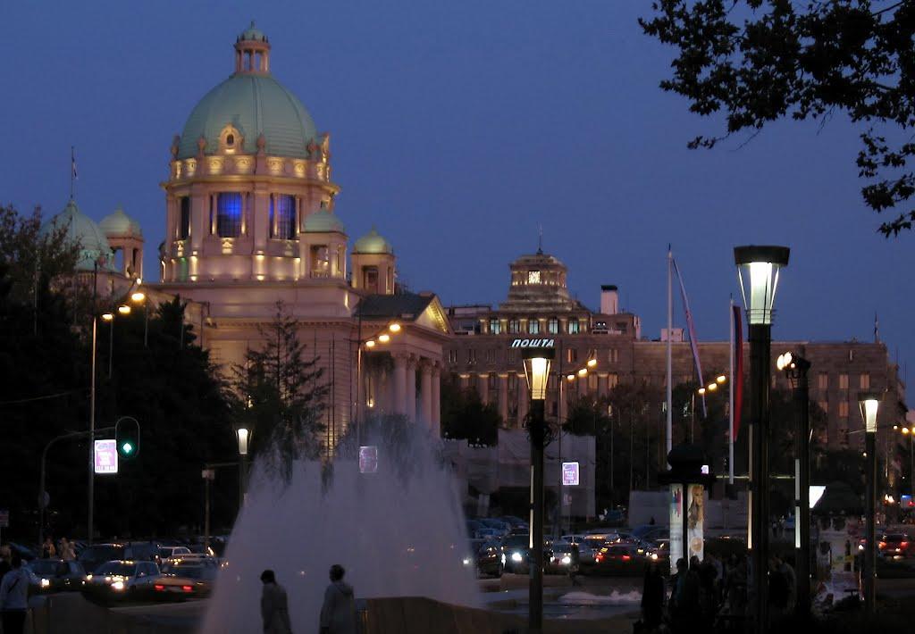 Trg Nikole Pasica, Белград