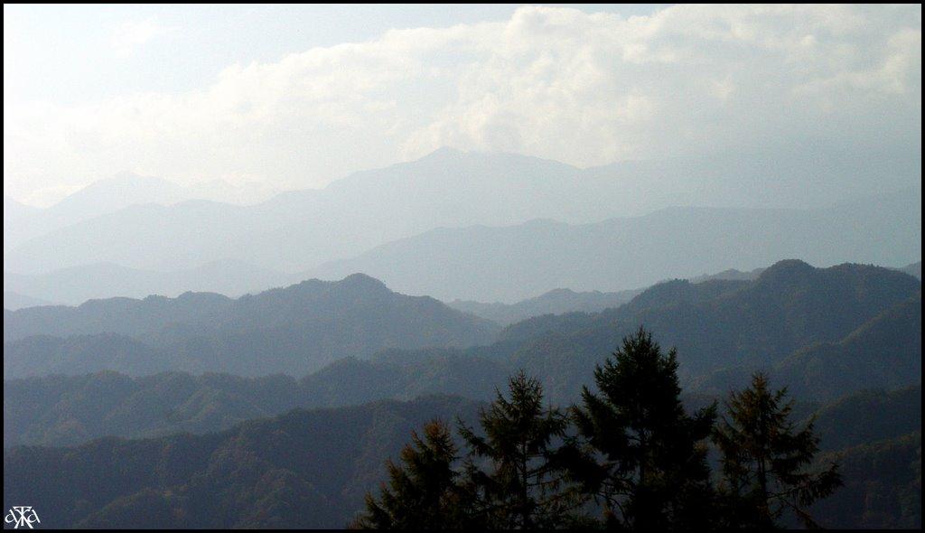 View from Ogawa village, Нагоиа