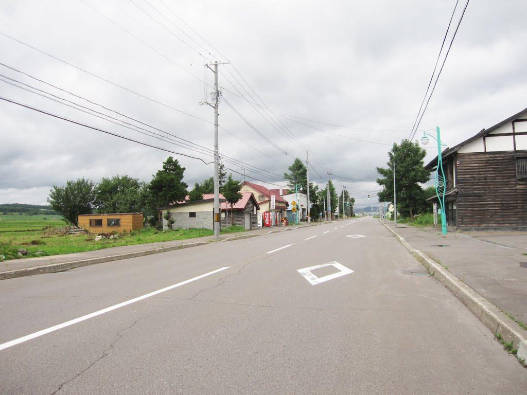 沼田町、275号線, Нумата