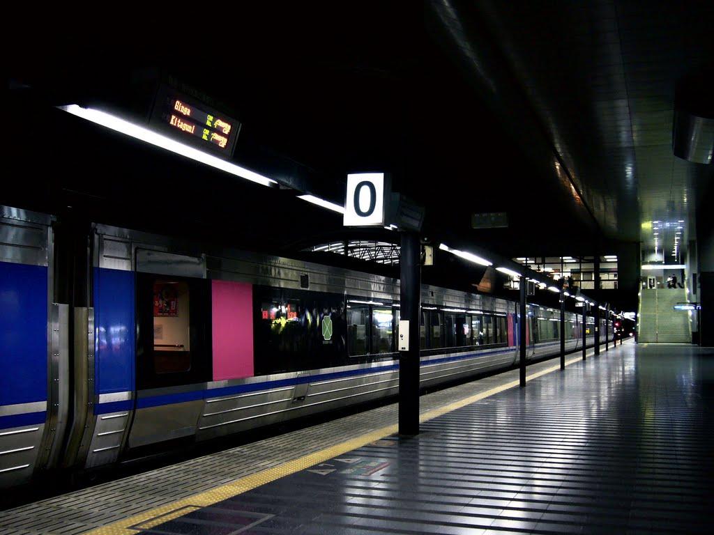 JR West Kyoto Sta. Platform No.0 JR西日本 京都駅 0番のりば [ys-waiz.net], Киото