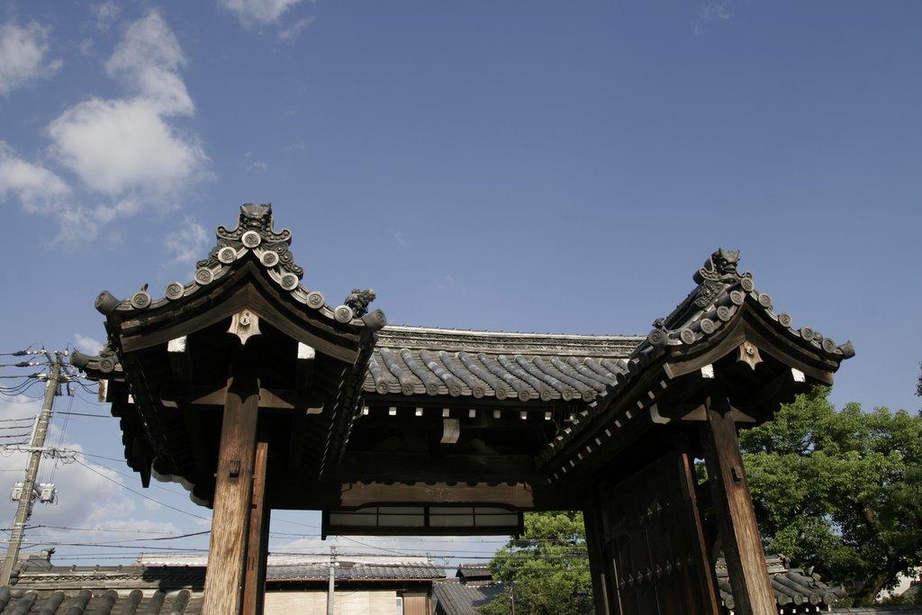 Mibudera temple 壬生寺, Киото