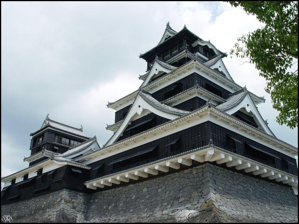Kumamoto castle, Кумамото