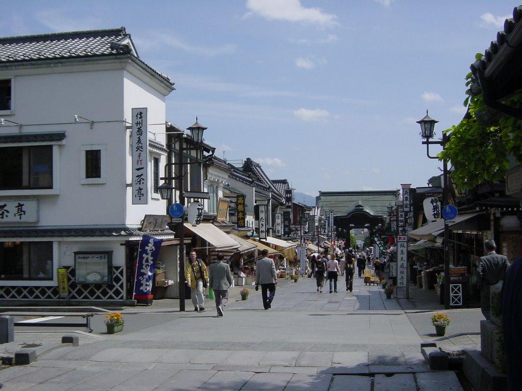 信州 善光寺参道商店街, Сува