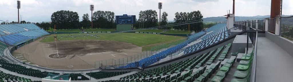 山形県野球場 荘内銀行・日新製薬スタジアム, Сасэбо