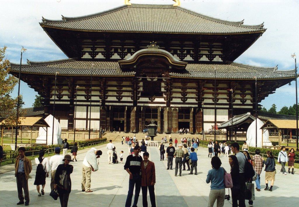 Todaiji templo de Nara, Кашихара