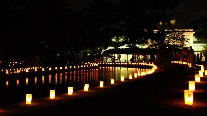 国立博物館の灯り, Кашихара
