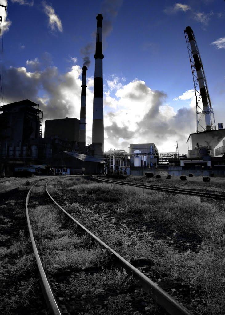 Hokuetsu kishu paper Niigata plant 北越紀州製紙新潟工場 [ys-waiz.net], Ниигата