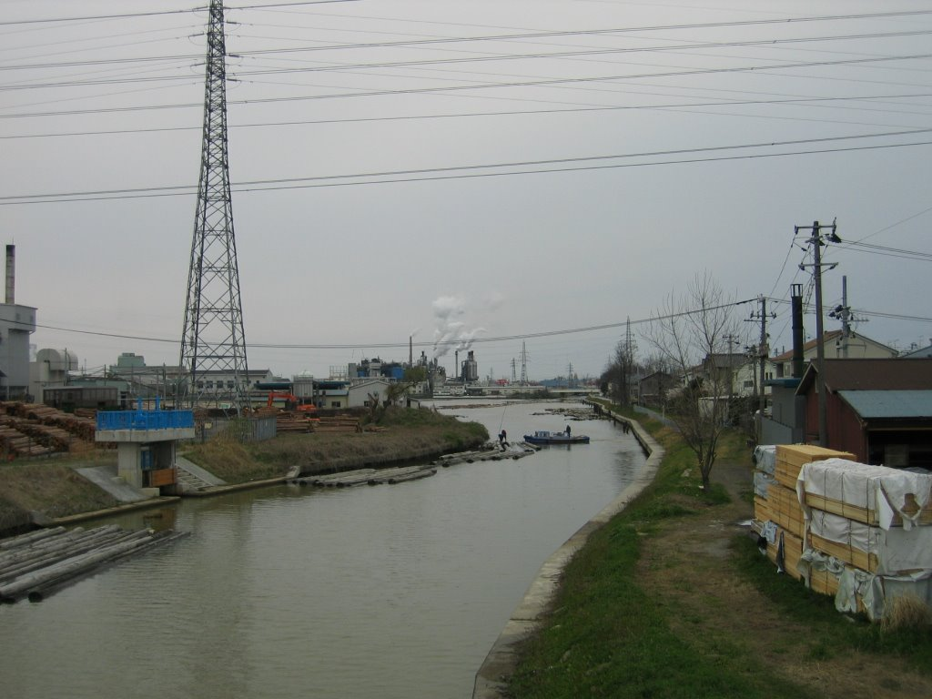 Tsuusen River(通船川), Кашивазаки