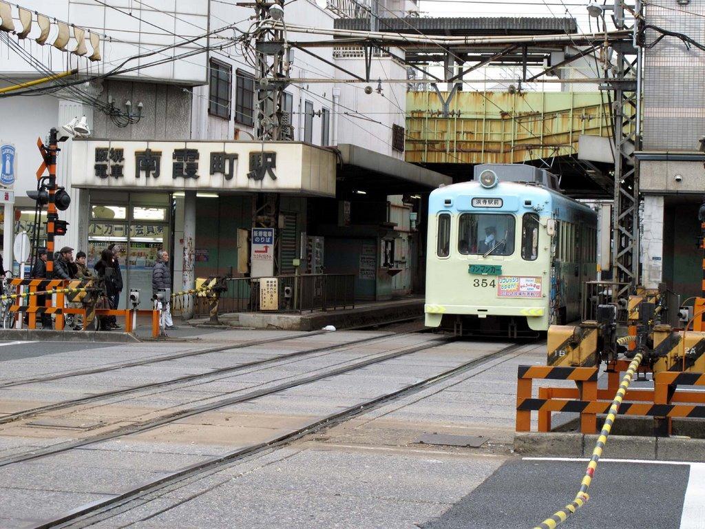 南霞町駅, Ниагава