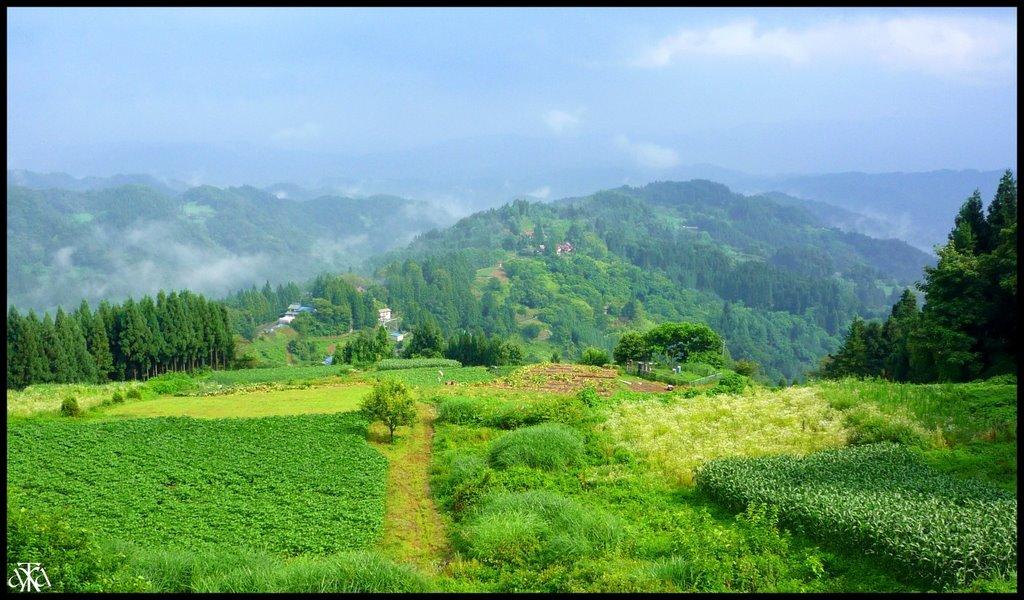 Rural scenery of Ogawa village, Кумагэйа