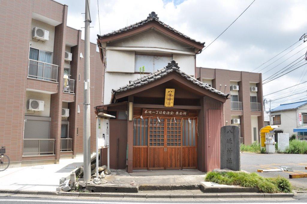 Yasaka-Jinja  八坂神社  (2009.07.25), Нарашино