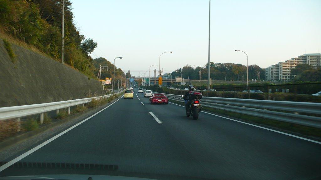 16号 京葉道路脇 南へ, Фунабаши