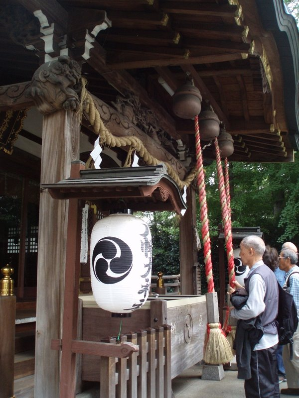 Hachiman Daijinja Shrine, Митака
