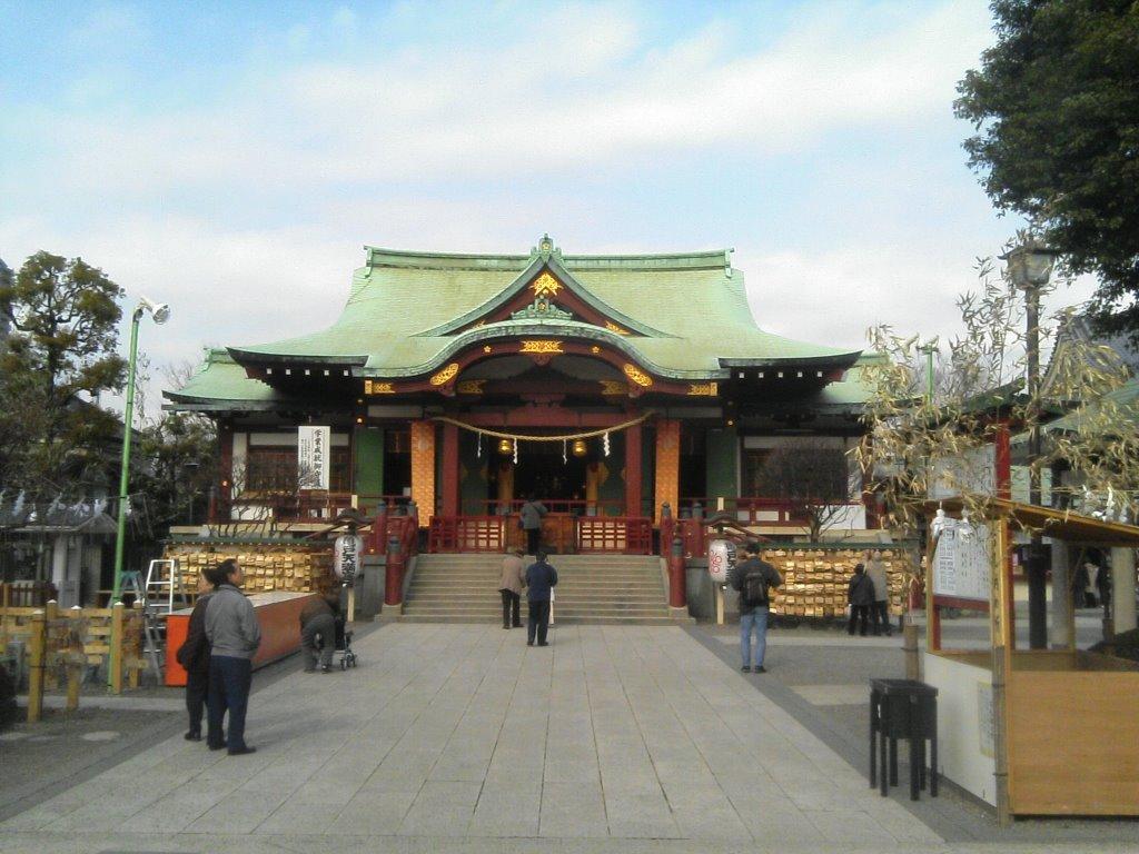 亀戸天神, Хачиойи