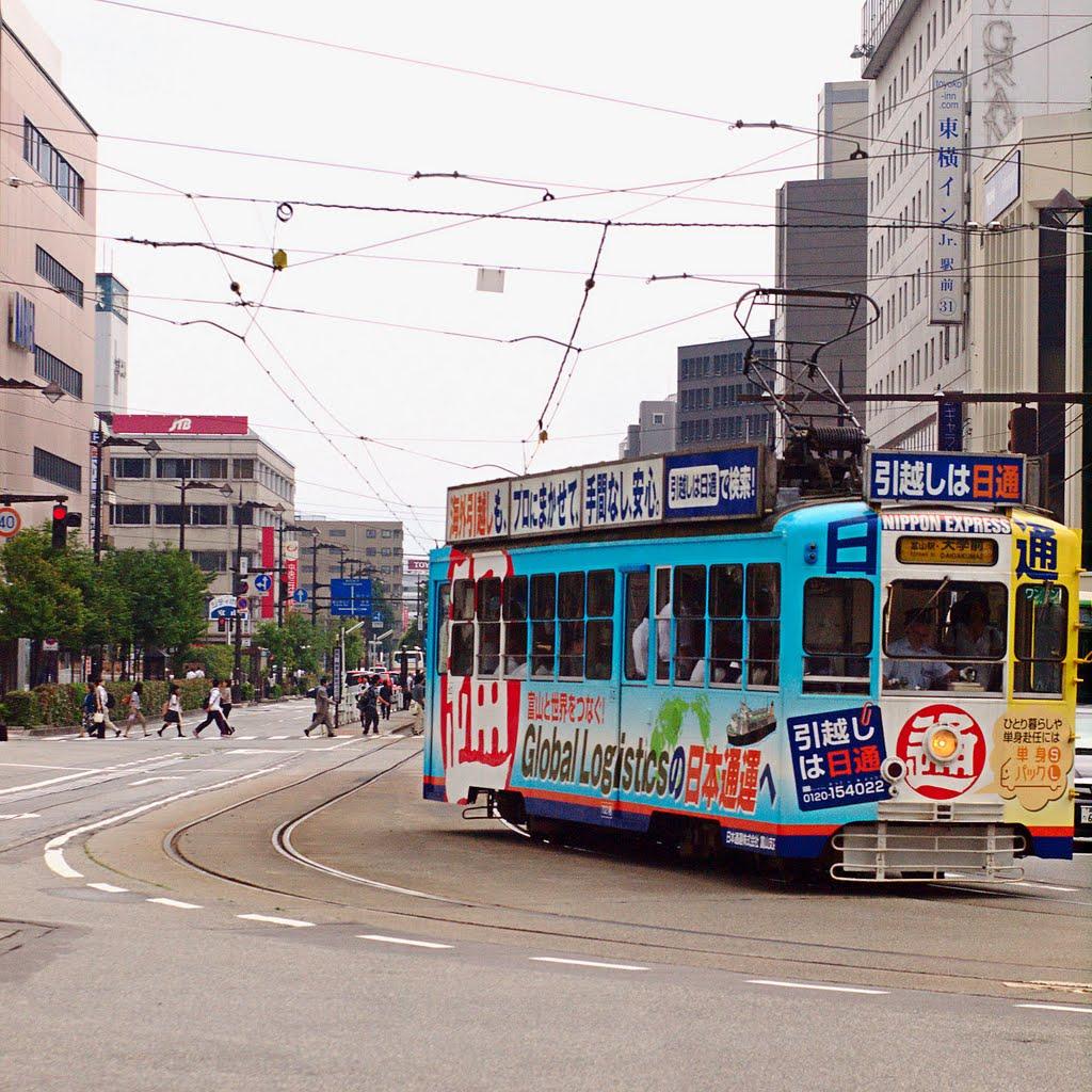 A tram of Toyama, Камишии