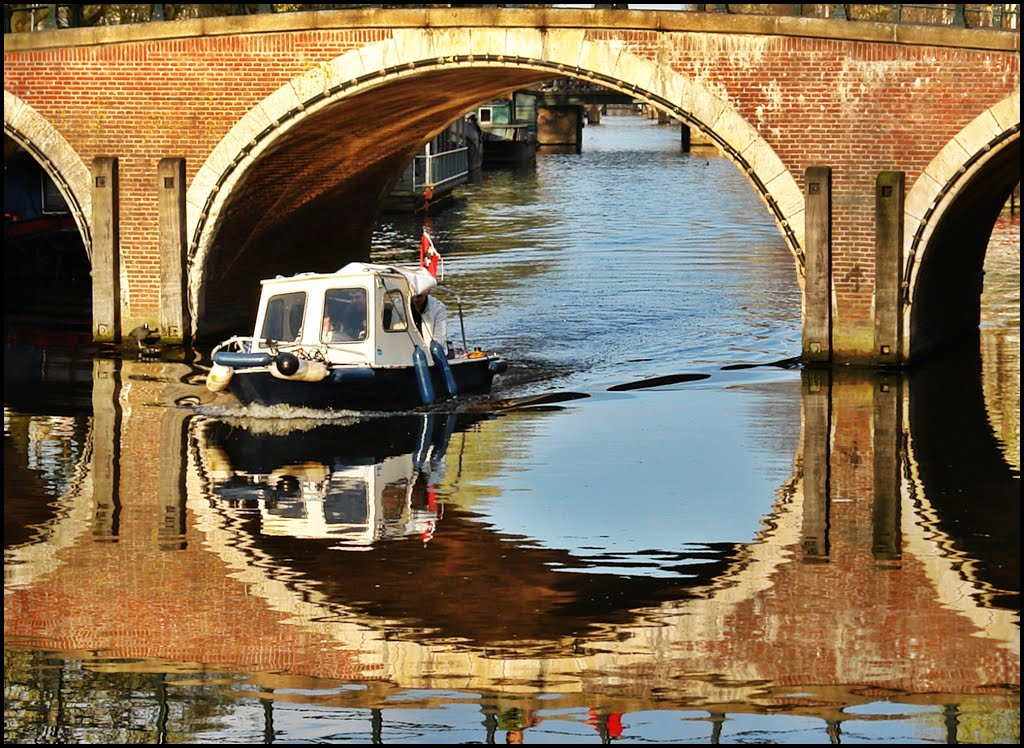 Amsterdam - Canal Reflections - Holland - 1st Prize Contest June 2013 -  [By Stathis Chionidis], Амстердам