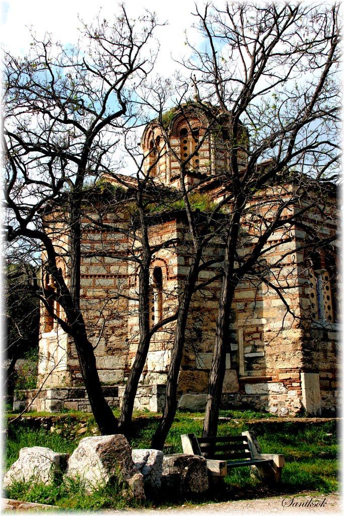 Church of Saint Apostoloi Ancient Market - Ιερός Ναός Αγίων Αποστόλων Αρχαία Αγορά, Афины
