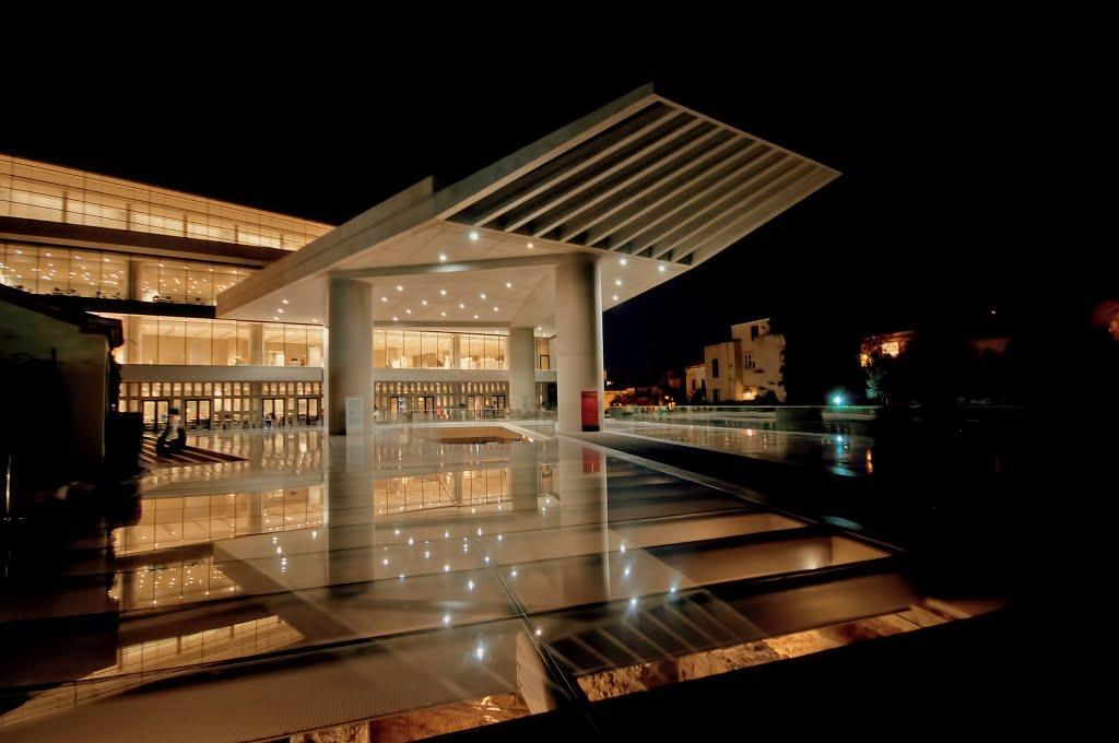 Concrete glass and History, Афины
