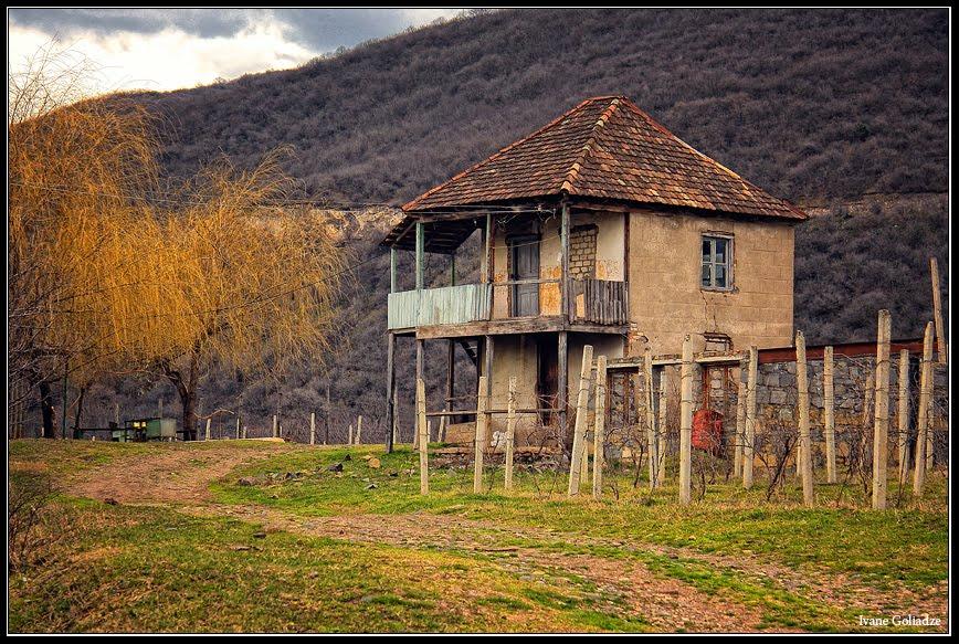 Abandoned House Near Bolnisi - By Ivane Goliadze, Болниси