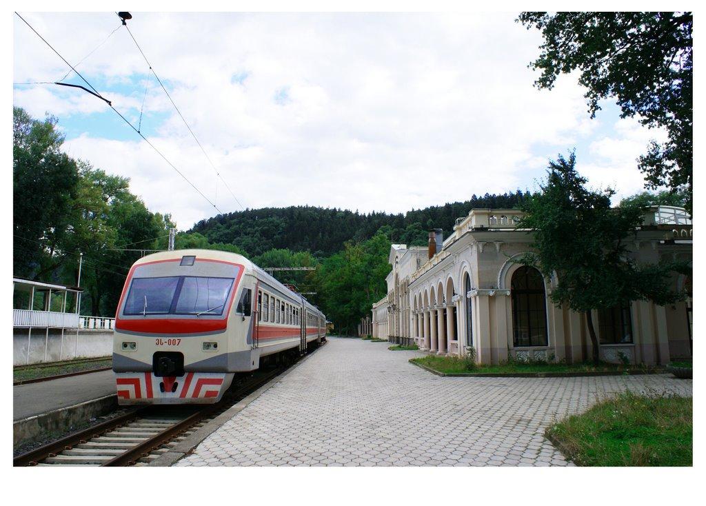Estacion de Borjomi, Боржоми
