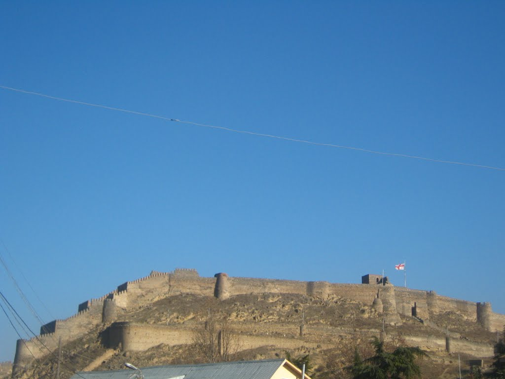 Gori Castle---view from the west, Гори