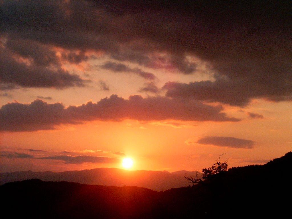 Sunset from Kojori Villa, Коджори