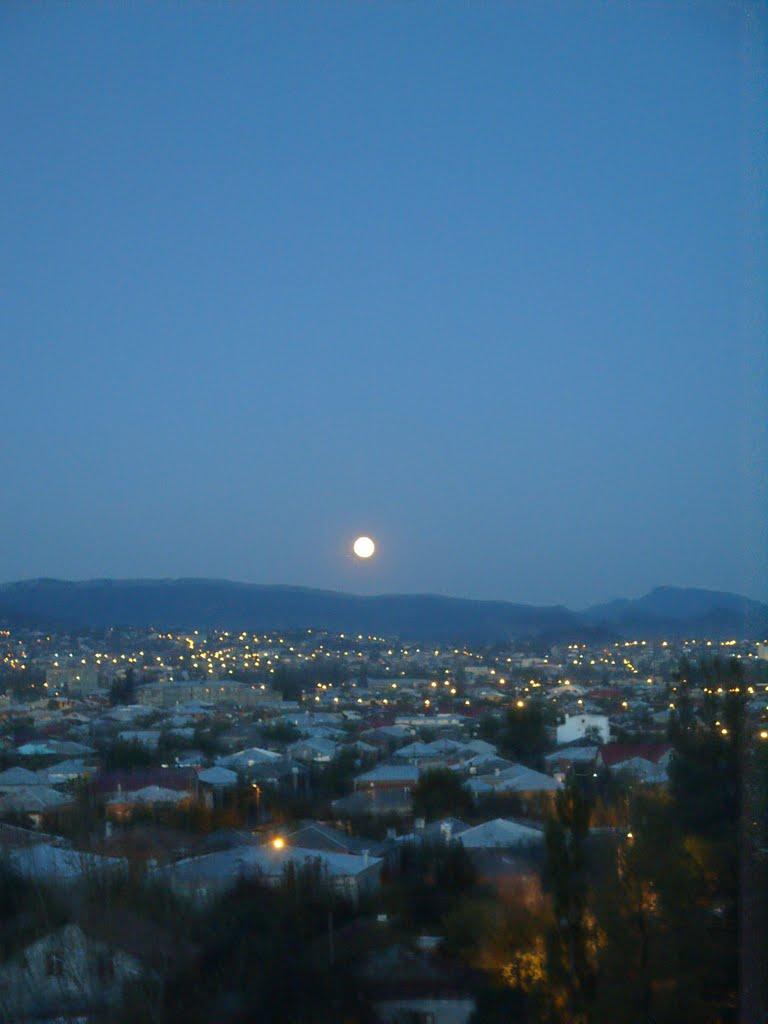 Kutaisi. Moonrise, Кутаиси