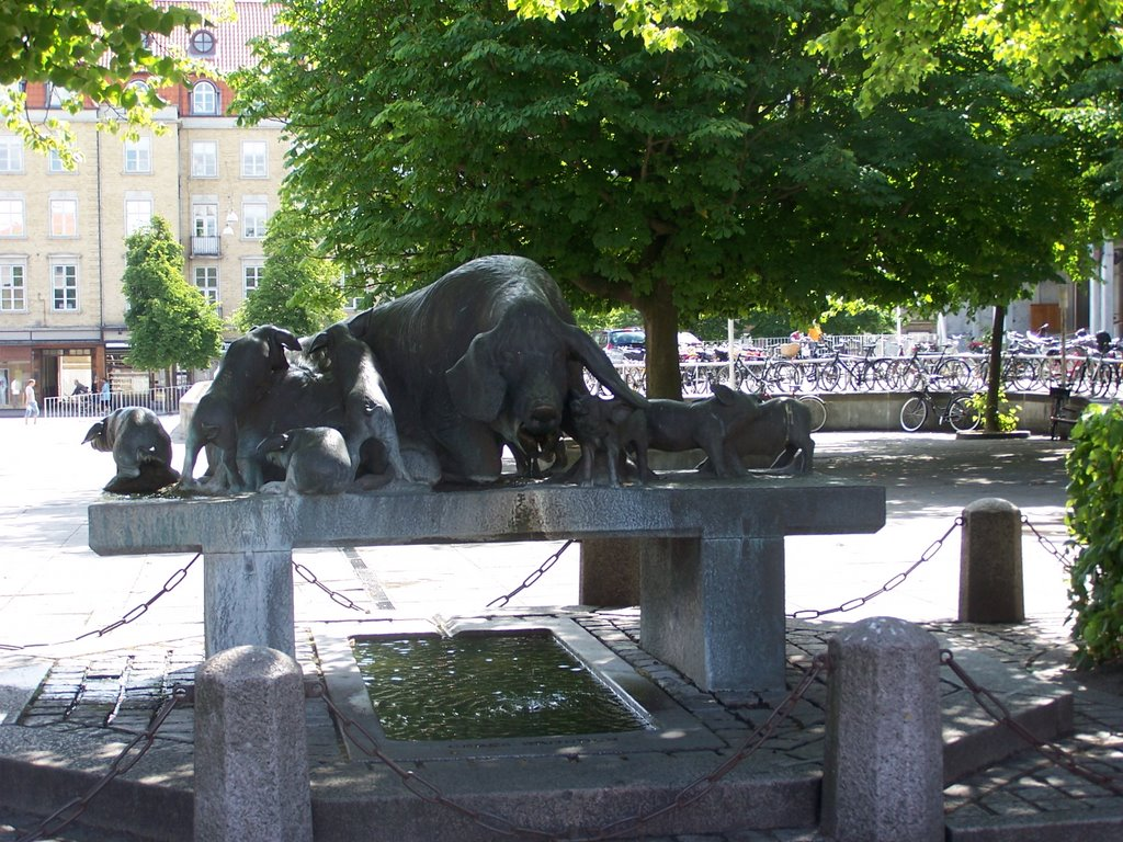 Grisebrønden (Pig Well), Орхус