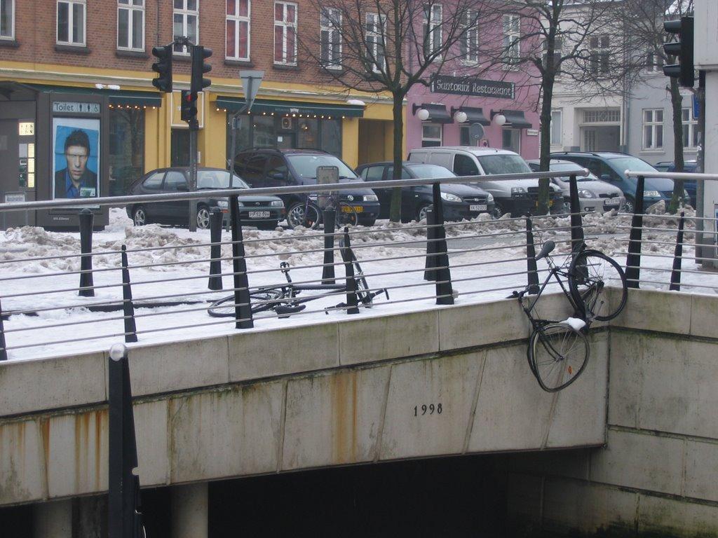 Bikes in Aboulevarden, Aarhus. feb07, Орхус