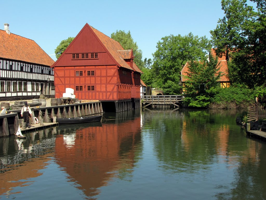 Reflections - The Good Old Days I - The Old Town, Aarhus, Jutland, Denmark, Орхус