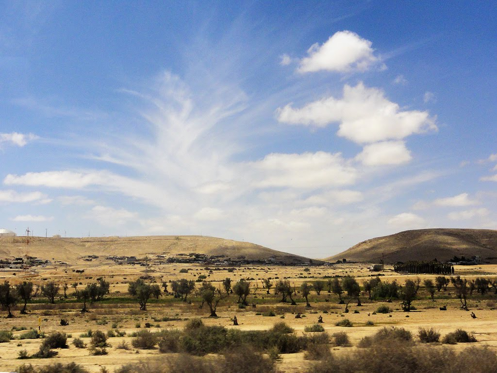 Views near Dimona, Димона