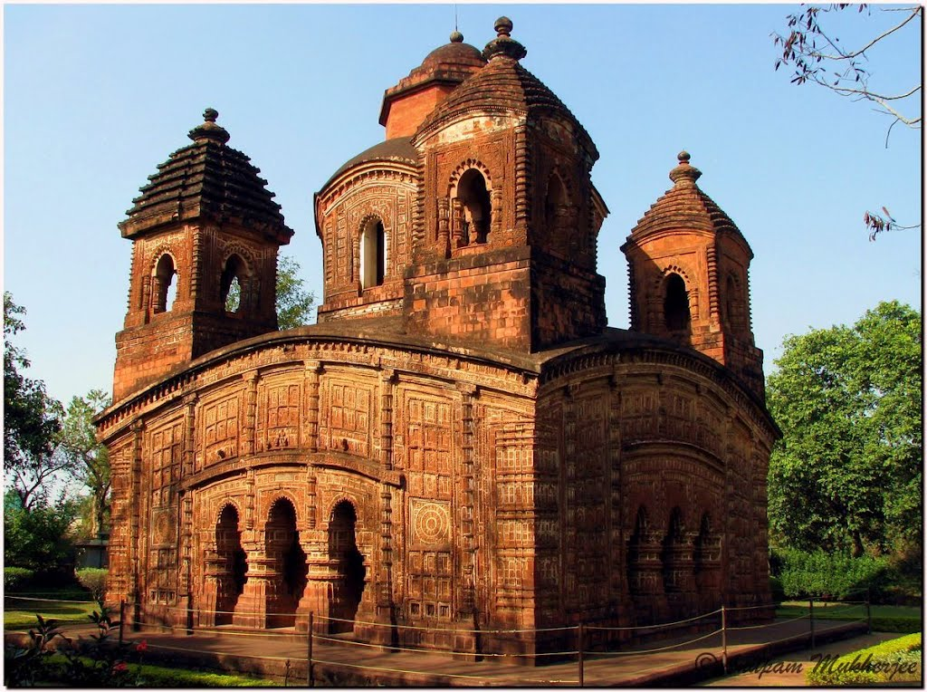Shyamrai/Panch Chura temple, Bishnupur ©Anupam, Банкура