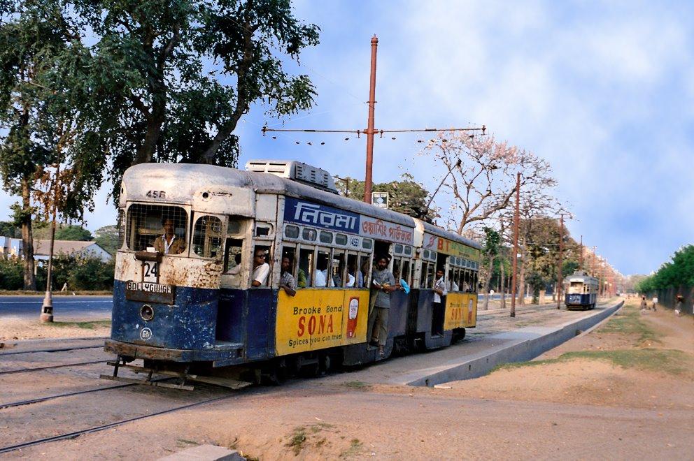 Traffic in Kalkutta/India, Камархати