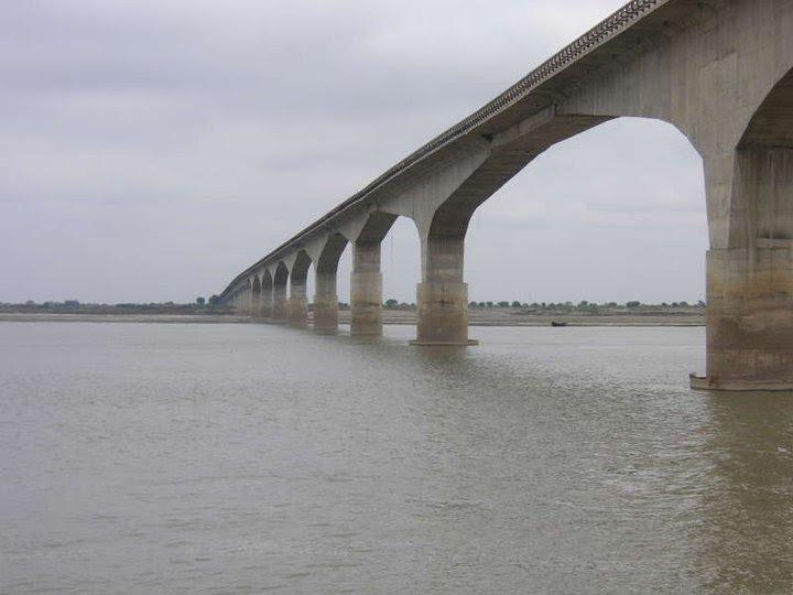 Bararie bridge, Бхагалпур