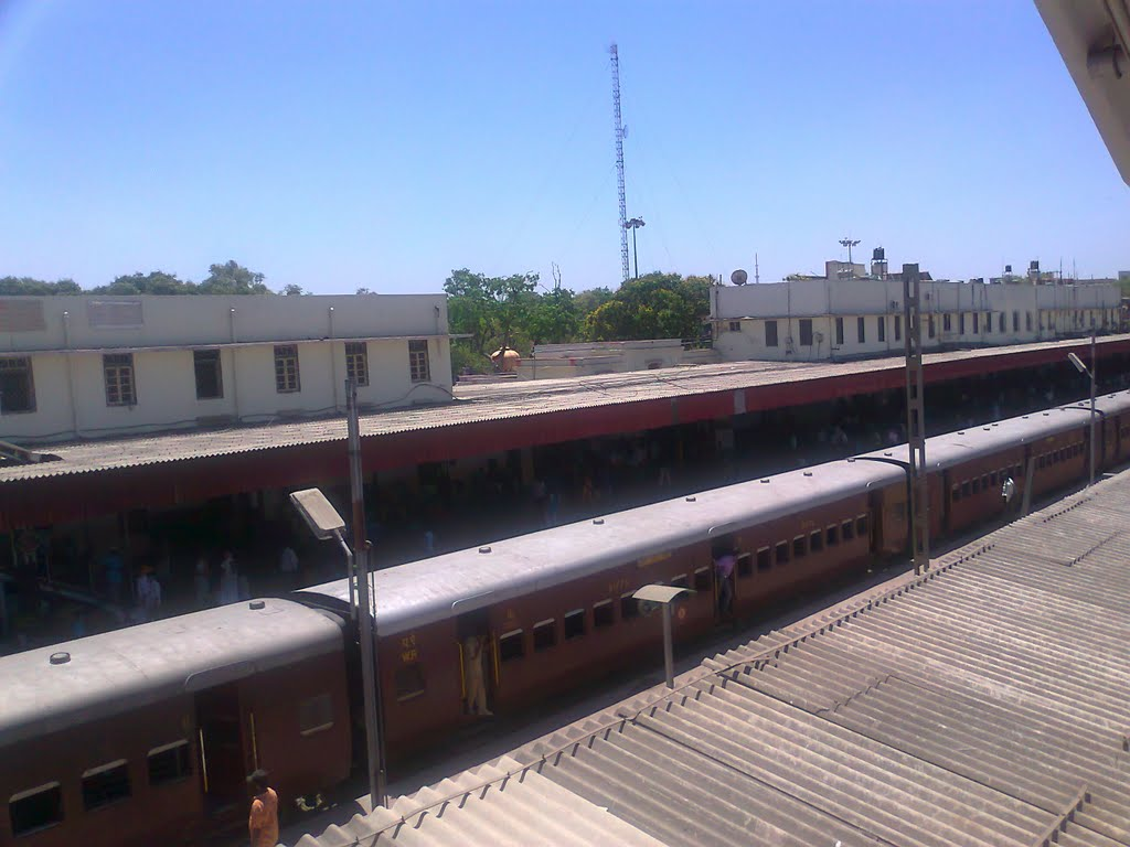 Indore Railway Station, Индаур