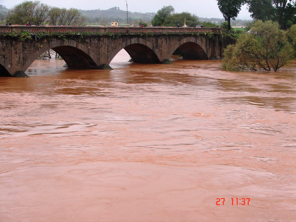 shivaji bridge - river panchaganga, Колхапур
