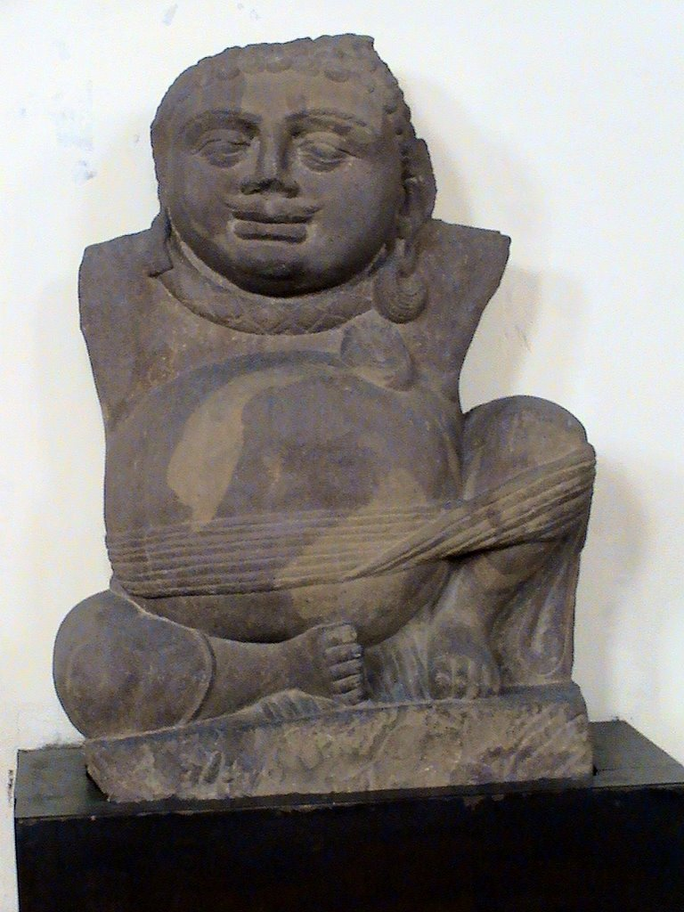 Kuber - Vedic God of wealth  & prosperity , Government Museum, Mathura, Альвар