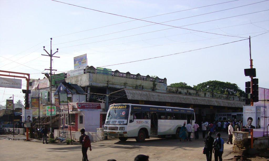 புதுக்கோட்டை பேருந்து நிலையம் Pudhukkottai Bus Stand     4459, Пудуккоттаи