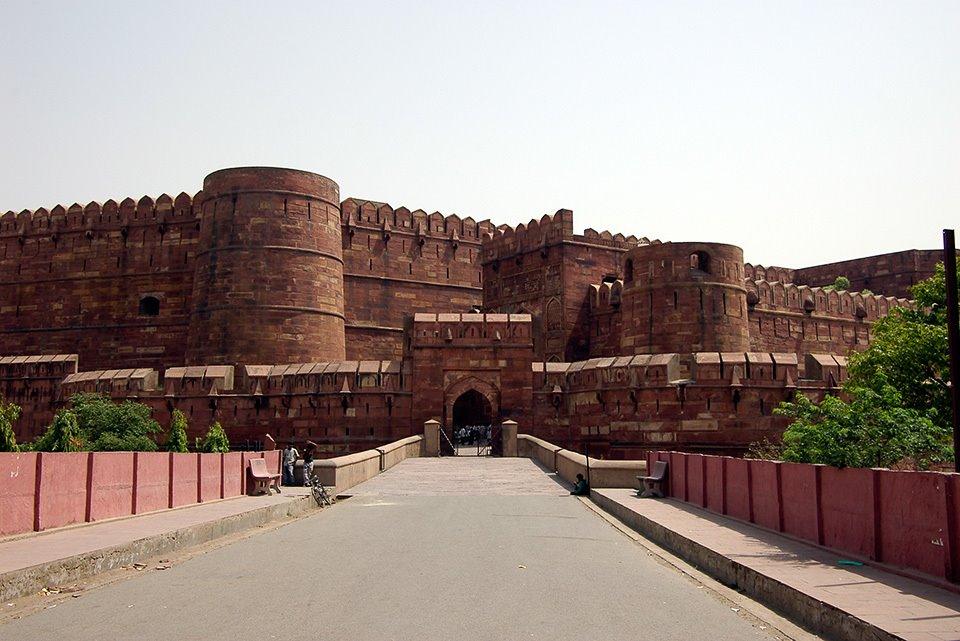 アーグラー城 Agra Fort, Агра