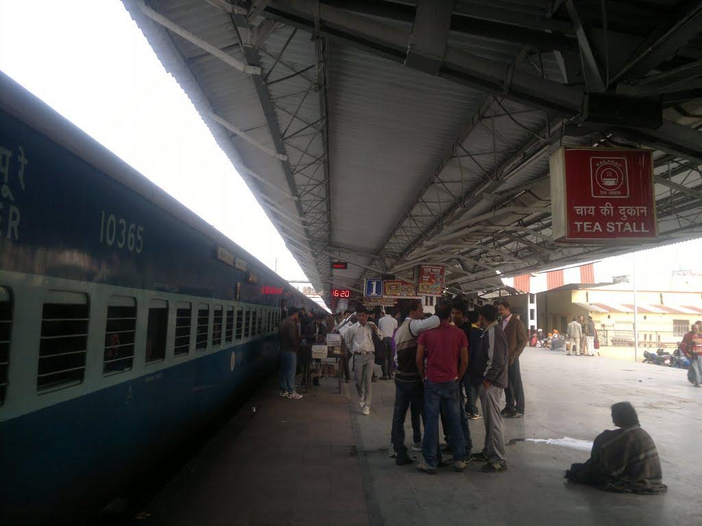 gorakhpur railwy stesan, Горакхпур