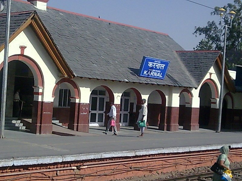 karnal railway station, Карнал