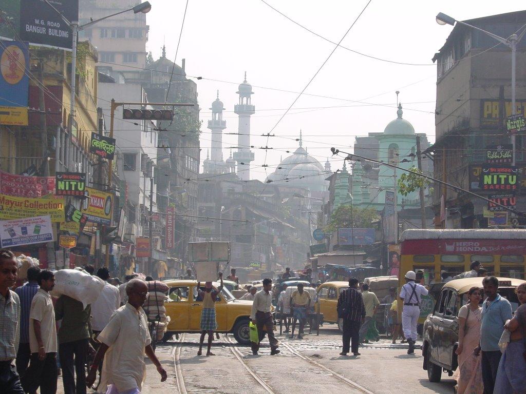 Kolkata Crowd / Nakhoda Masjid, Калькутта